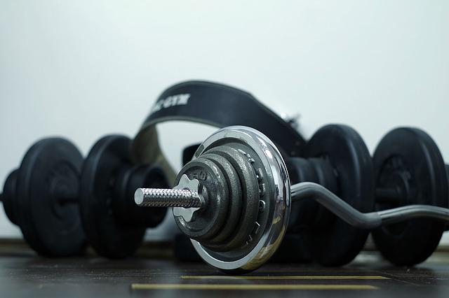 Sport, Exercise, Gym, The Muscles, Iron, Metal, Bitumen