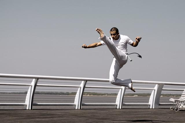 Young, Sport, Action, Capoeira, Rosario, Professor