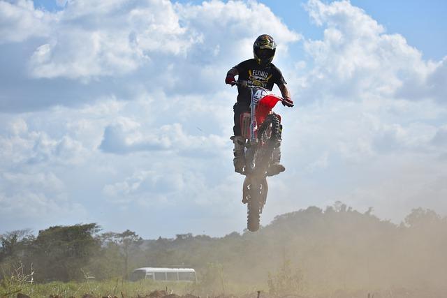 Bike, Wheel, Hurry, Sport, Motocross, Dirt Bike, Ramp