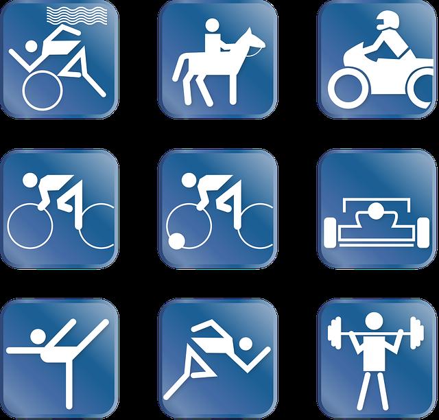 Sport, Pictogram, Triathlon, Ride, Motorsport