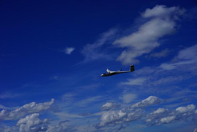 Glider Pilot, Sail, Sport, Fly, Clouds, Wind, Hairdryer