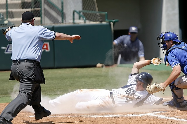 Baseball, Sliding, Runner, Scoring, Sport, Game, Slide