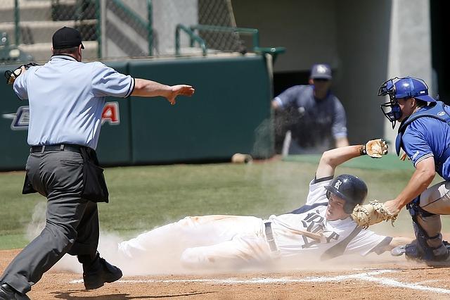 Baseball, Sliding, Runner, Scoring, Sport, Game, Slide