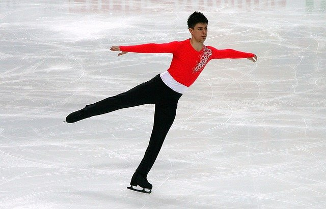 Men, Figure Skating, Ice, Skate, Sport, Winter, Leisure