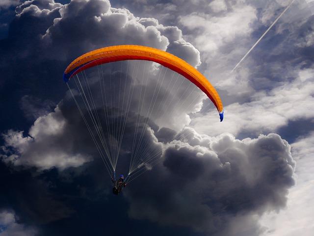Sport, Paragliding, Paraglider, Sky, Fly, Flight