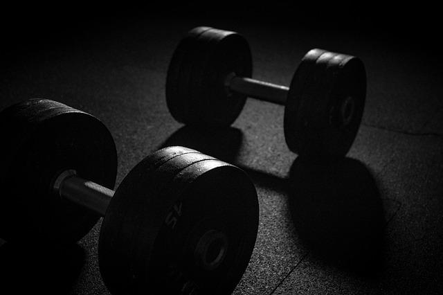 Dumbbell, Sport, Weights, Strength Training