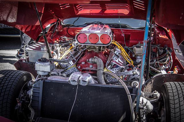 Car Engine, Racing, Chevrolet, Corvette, Sports Car