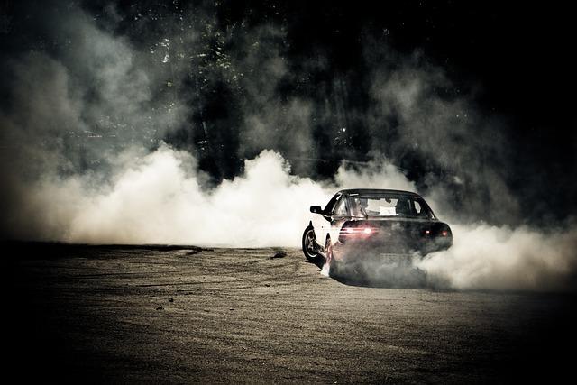 Drift, Car, Sports Car, Auto
