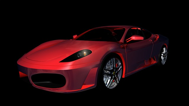 Ferrari, F430, Sports Car, Auto, Automobile, Contour