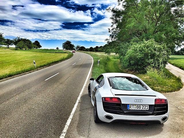 Audi, Sports Car, R8, Marlene, V10, Super Sports Car
