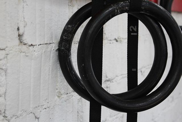 Gymnastic Rings, Rings, Gymnastics, Sports Equipment