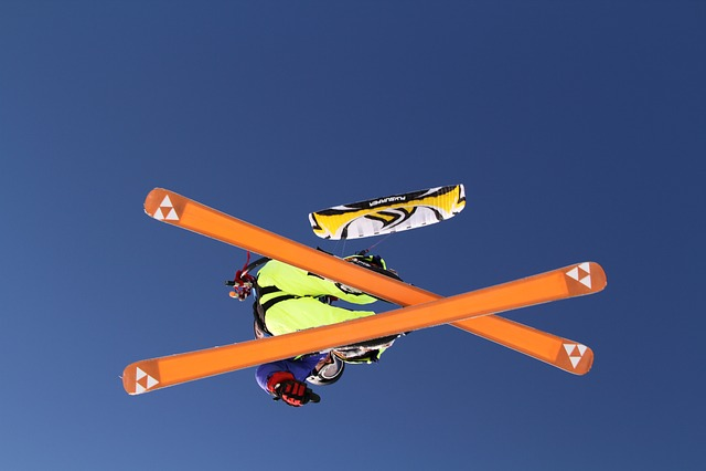 Fisher, Kite, Kitesurfing, Winter, Sports, Extreme
