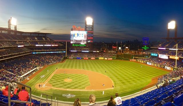 Baseball, Sports Field, Stadium