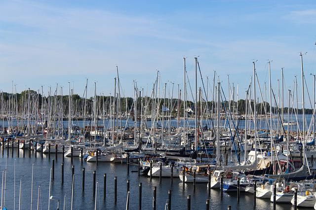 Kiel, Schilksee, Sports Harbour, Marina
