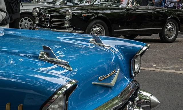 Chevrolet, Hood, Classic, Automotive, Chrome, Spotlight