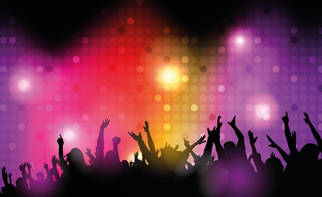Disney, Dance Club, Disco, Lighting, Spotlight, Red