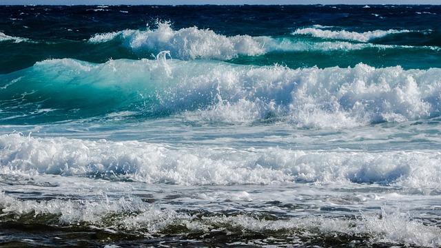 Wave, Smashing, Sea, Beach, Nature, Spray, Foam, Power