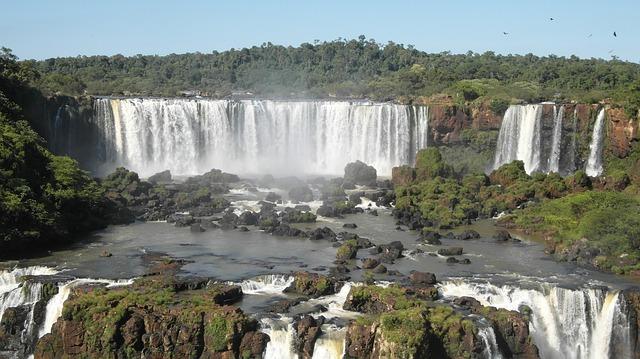 Foz Do Iguaçu, Iguaçu, Waterfall, Water, Cases, Spray