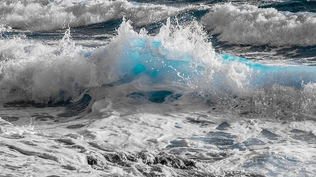 Water, Surf, Nature, Sea, Wave, Ocean, Spray, Foam