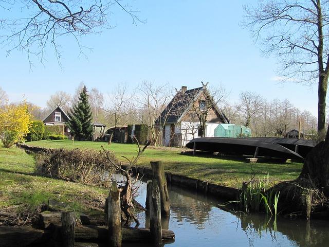 Spreewald, Flat Barge, Kiellos, Dry