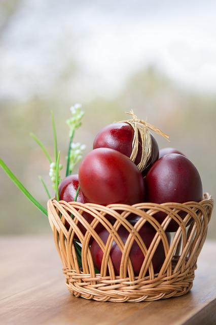 Easter, Spring, Holiday, Christ Is Risen, Food, Nature