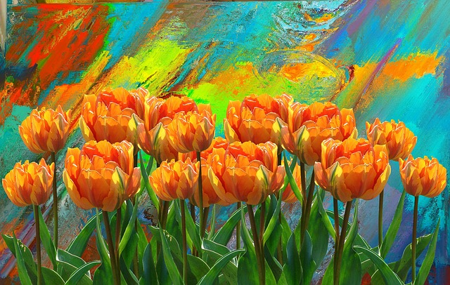 Tulips, Spring, Flower, Nature, Spring Flower, Colorful