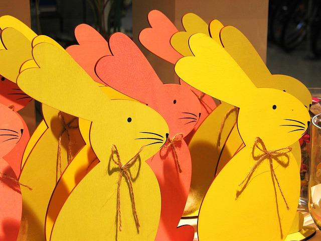 Easter, Easter Bunny, Rabbit, Spring, Easter Decoration