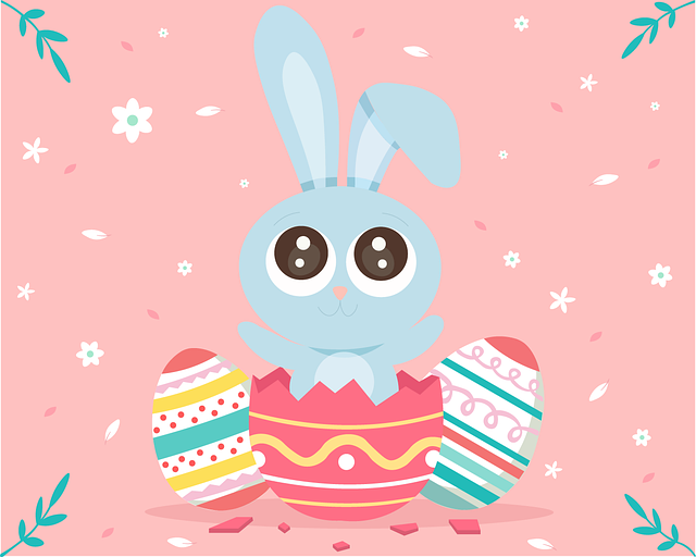 Easter, Rabbit, Egg, Cute, Spring, Ears