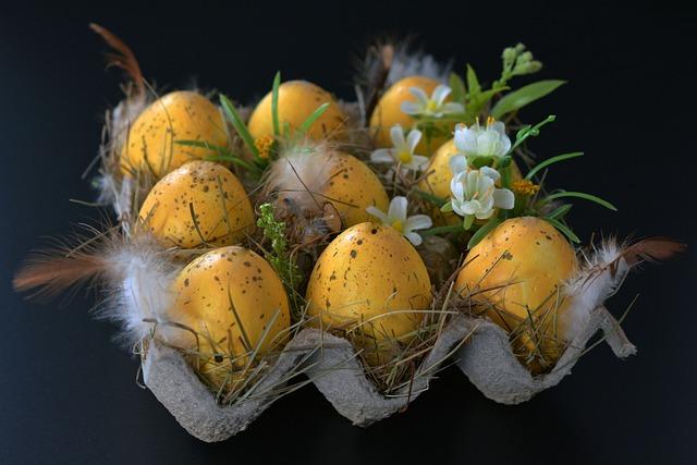 Easter Eggs, Easter Nest, Easter, Egg, Spring