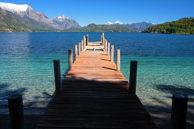 Moreno Lake, Southern Argentina, Landscape, Spring