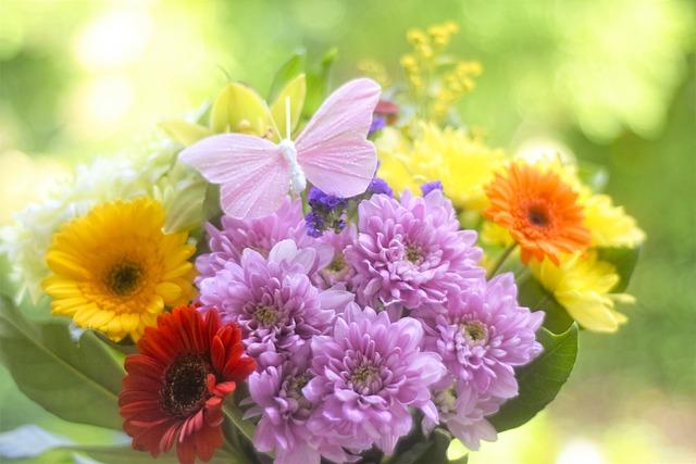 Flowers, Bouquet, Spring, Nature, Love, Pink, Romance