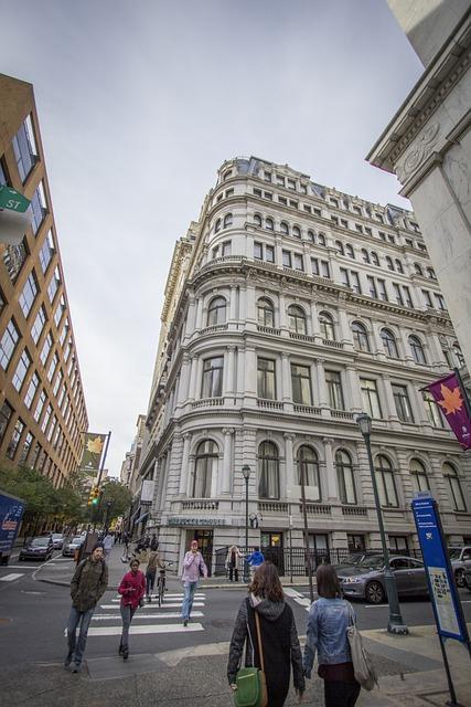 Architecture, United States, Philadelphia, Spring