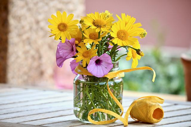 Flowers, Wildflowers, Spring, Margaret, Raffia, Summer