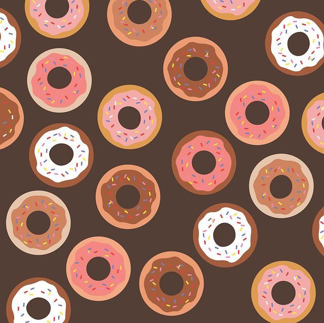 Donut, Donuts, Sprinkles, Sweet, Glazed, Chocolate