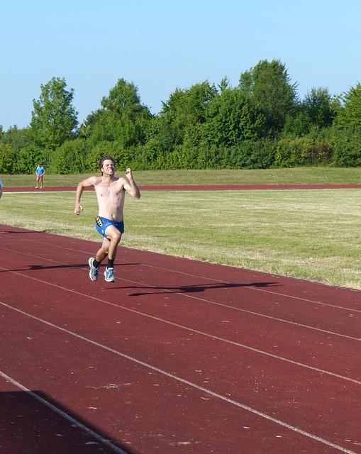 Athletics, Sport, Race, 100 Metres Run, Sprint