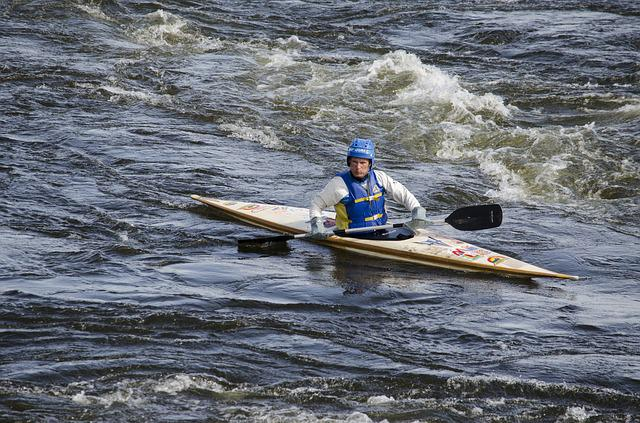 Sprint Canoer, Outdoor Life, Sports, Stockholm