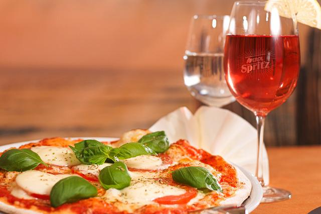 Restaurant, Italians, Pizza, Eat, Aperol, Spritz, Basil