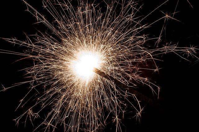 Sparkler, Star Fire, Sprühkerze, Injection Candle
