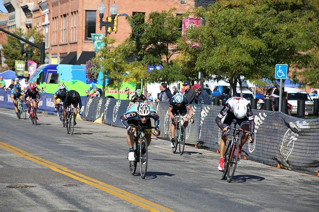 Bike Race, Finish, Final Spurt, Spurt, Race, Event