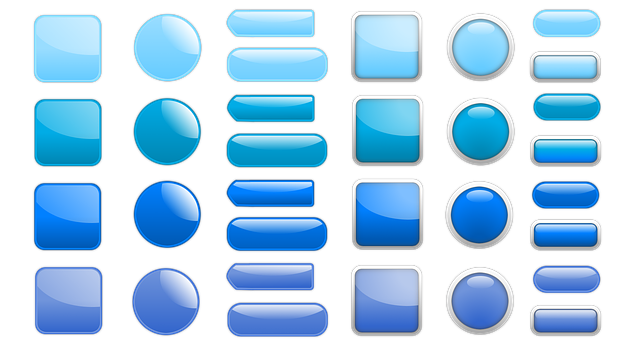 Button, Icon, Oblong, Square, About, Blue