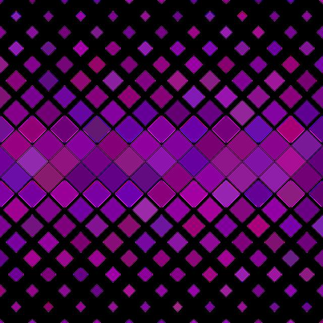 Pattern, Square, Purple, Horizontal, Diagonal