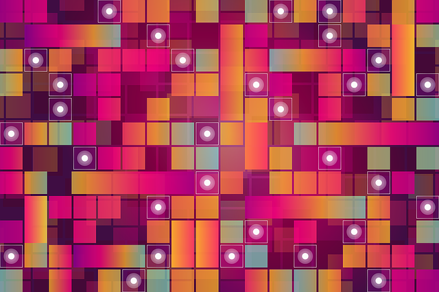 Abstract, Background, Colorful, Squares, Pattern