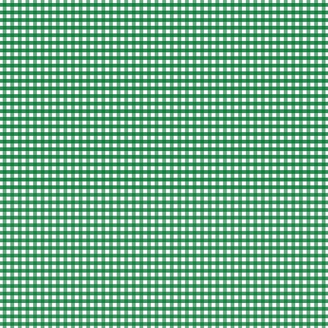 Green, Gingham, Check, Plaid, Fabric Pattern, Squares