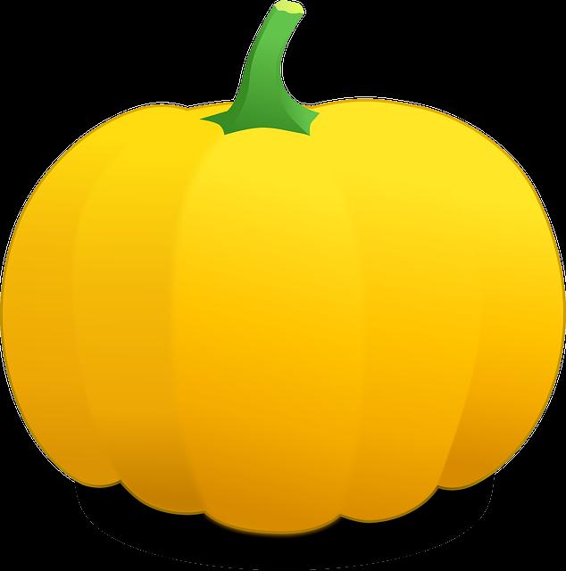 Pumpkin, Gourd, Cucurbit, Squash, Calabash, Yellow