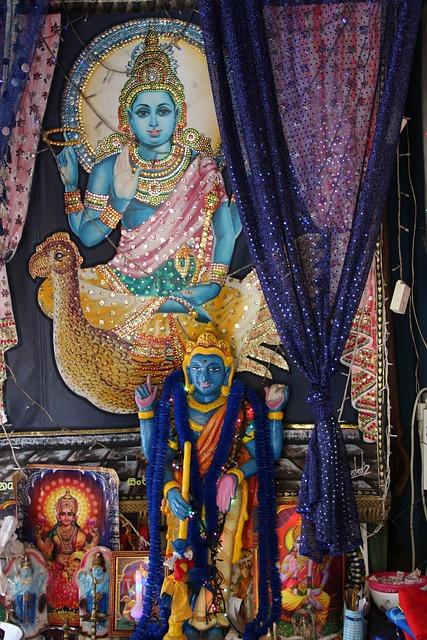 Hinduism, Hindu Temple, Sri Lanka, Krishna