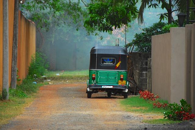 Rickshaw, Sri Lanka, Transport, Taxi, Tuk-tuk