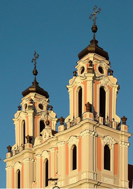 Lithuania, Vilnius, St Catherine's Church, Baroque