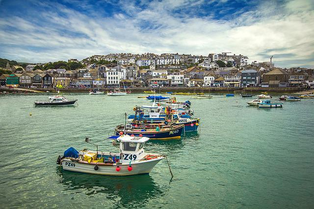 St Ives, Bay, The Waterfront, England