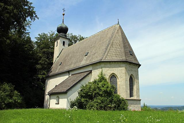 House Of Worship, Church, Chapel, St Johann, Siegsdorf