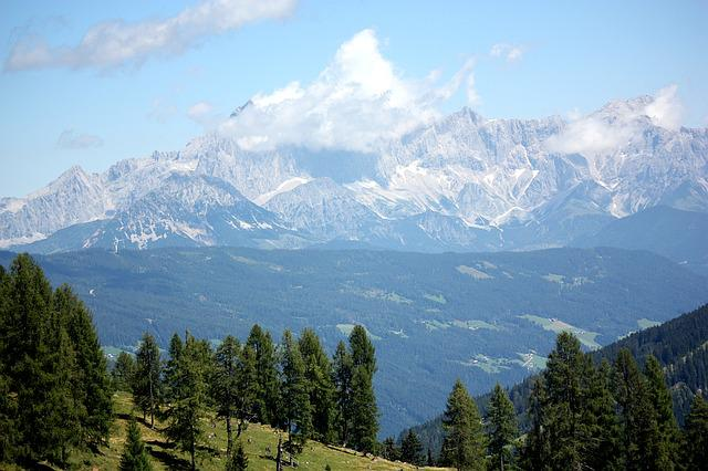 Austria, Alps Mountains, Summer, Flachau, St Johann